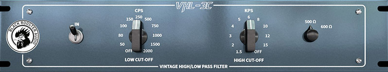 Frontplate of VHL-3C